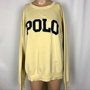 Polo | Spellout | Vintage | Crewneck